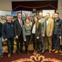 HRI Future Focus Racecourse Roadshow, Abbey Hotel, Roscommon 15/2/2016 Michael Flannery, Michael Joyce, John Flannelly, Anne Flannelly, Clare Flannelly, Gerard Geraghty, Joe Daly, Cathal Flannelly and Sean O'Connell Mandatory Credit ©INPHO/Morgan Treacy