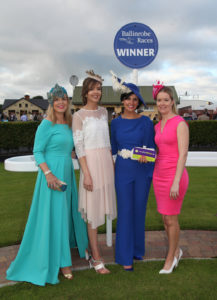 Galway Girl is the Right Fit for vaughanshoes.ie Best Dressed Lady at Ballinrobe Racecourse