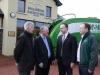 John Staunton (Racecourse Chairman), Paraic McHale (McHales), John Flannelly (Racecourse Manager) & Paul McHale (McHales)