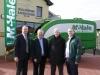 L-R - John Flannelly (Racecourse Manager), Paraic McHale (McHale), John Staunton (Racecourse Chairman) & Paul McHale (McHale)