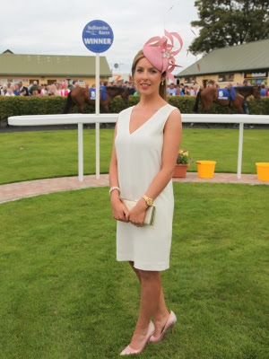 At Ballinrobe RAces winner of Ladies Day was Sinead Burkefrom Kilconly , Tuam. Pic:Trish Forde.